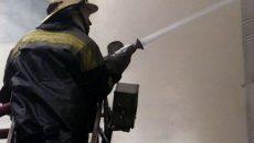 В Смоленске произошло возгорание в многоквартирном доме