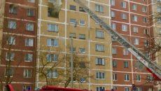 Страшный пожар под Смоленском, из-за которого погиб ребенок, сняли на видео