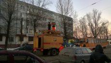 В Смоленске стали трамваи из-за обрыва контактной сети