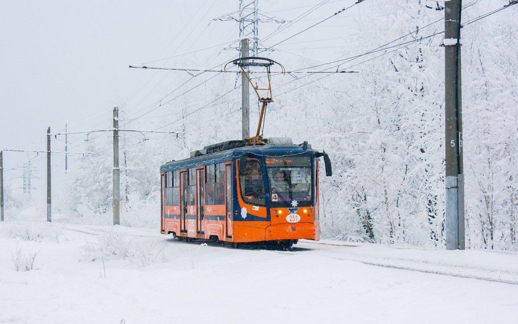 трамвай 71-623-00 №251 (фото vk.com smolensk_transport)