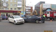 Стали известны подробности жесткого ДТП на улице Шевченко в Смоленске
