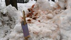 Под Смоленском неизвестные устроили тир на кладбище