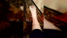 Под Смоленском девушка вывихнула ногу в маршрутке