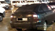 В Смоленске пассажирка стала жертвой разъяренного таксиста
