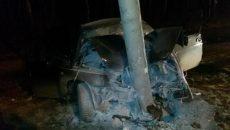 Страшное ДТП под Смоленском: водитель в больнице, машина разбита