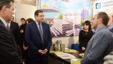 Алексей Островский принял участие в открытии Международной строительной выставки в Смоленске
