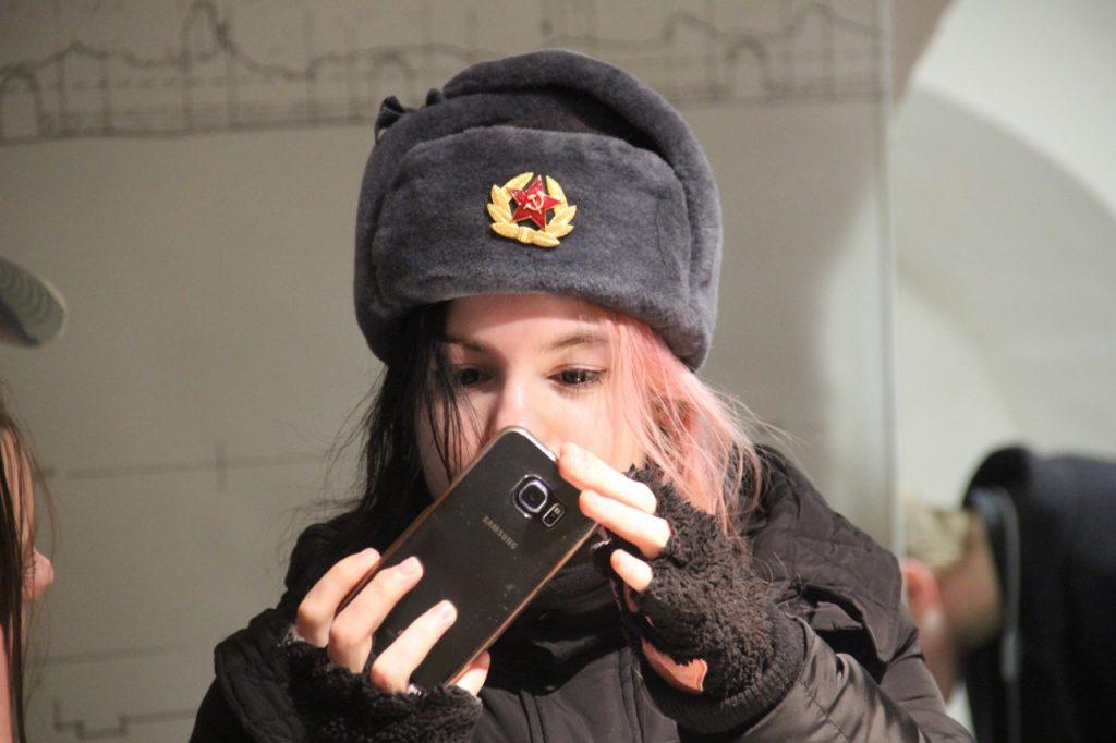 30.03.2019 - делегация польской молодёжи в музее Башня Громовая