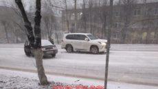 В Смоленске жёстко столкнулись внедорожник Lexus и «десятка»