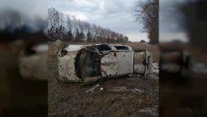 Под Смоленском в ДТП с малолитражкой на М1 пострадали водитель-пенсионер и его пассажир