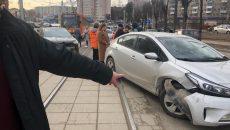 В Смоленске ищут свидетелей жёсткой аварии на рельсах