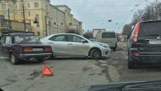 На Медгородке в Смоленске произошла уже третья за день авария