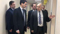 Полпред президента и губернатор Смоленской области оценили медицинские объекты региона