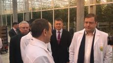 Управляющий Смоленским отделением Сбербанка посетил тепличный комбинат «Смоленский»