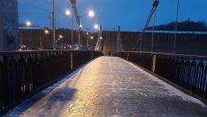 В Смоленске фотограф едва не упал с моста в Днепр