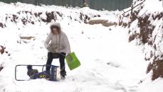 В Смоленске жители улицы Горной оказались отрезаны от цивилизации