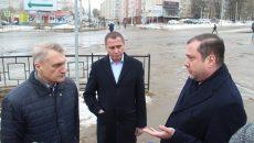 Алексей Островский проинспектировал состояние дорог в Смоленске
