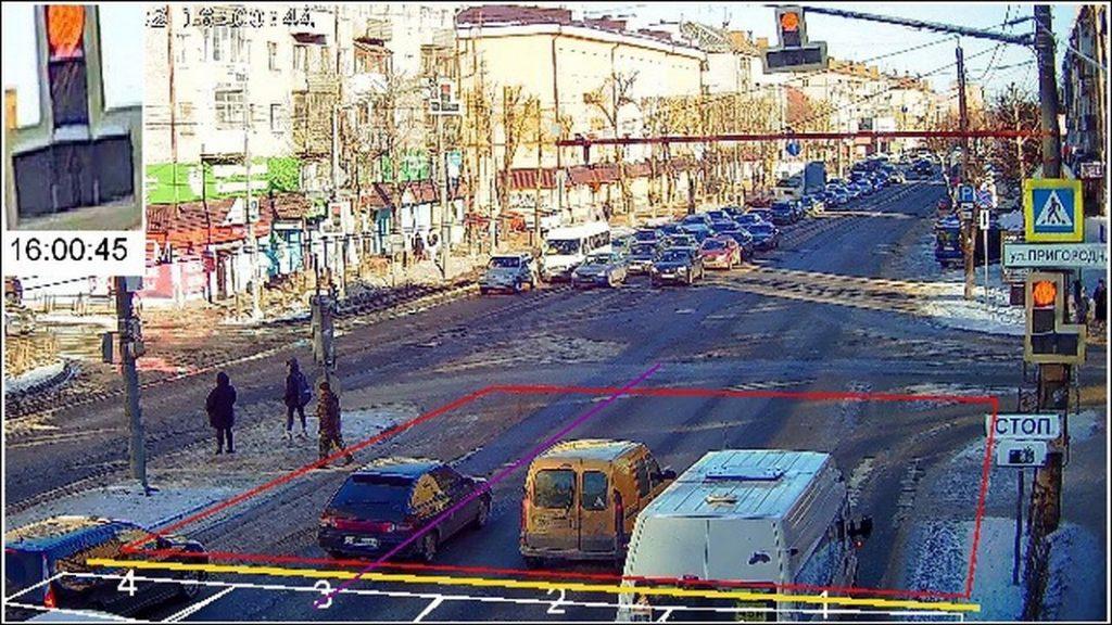 камеры видеофиксации нарушений ПДД на ул. Кирова в Смоленске