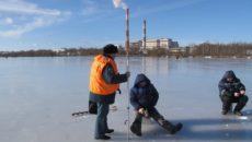 Смоленские спасатели напомнили об опасности весеннего льда