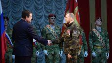 Алексей Островский поздравил сотрудников нацгвардии с профессиональным праздником