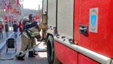 В Смоленске оцепление и эвакуацию ТЦ «Юнона» сняли на видео