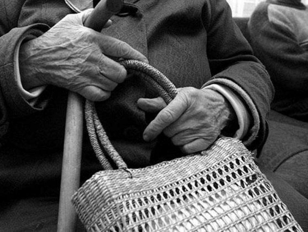 пенсионерка сумка