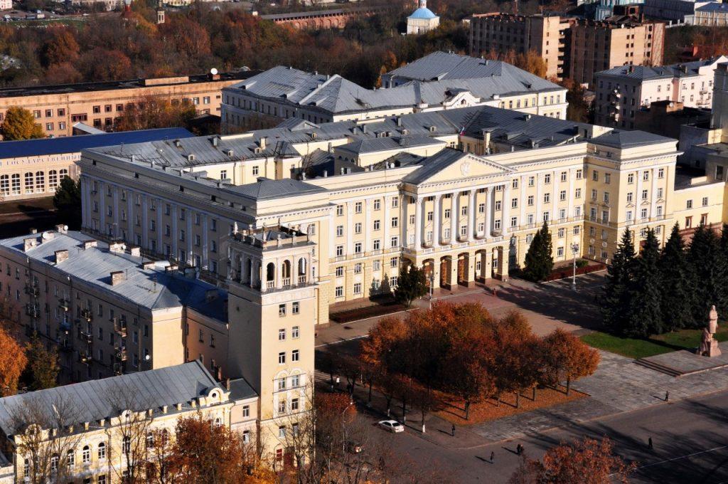 первое здание администрации Смоленской области, площадь Ленина, 1_2