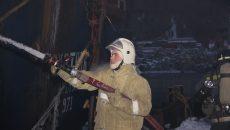 Под Смоленском произошёл пожар на кожевенном производстве