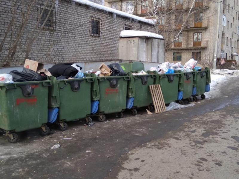 проверка вывоза мусора, ТКО в Смоленске (фото onf.ru)