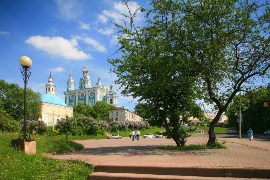 сквер у памятника Кутузову