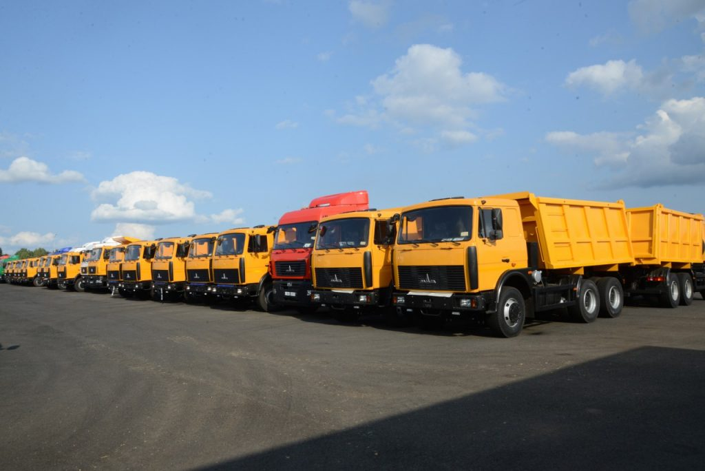 транспортно-логистический центр «Ред Стар», «Грин Лайн», дилерский центр «МАЗ», Volvo, MAN_3