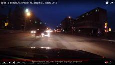 В Смоленске сняли видео «Урод на дороге»