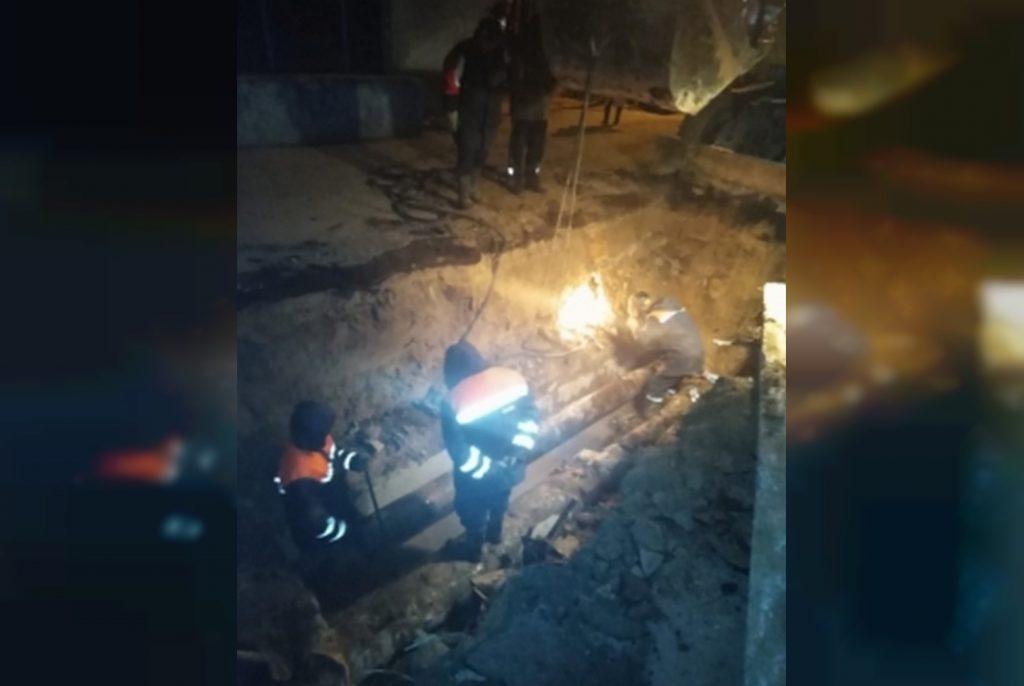 водозабор, трубопровод, ремонт, МЧС, порыв (фото 67.mchs.gov.ru)