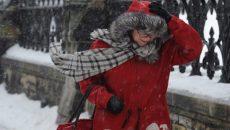 В Смоленске ожидается снегопад со шквалистым ветром