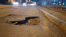 В Смоленске водителей предупредили о ловушках на дорогах