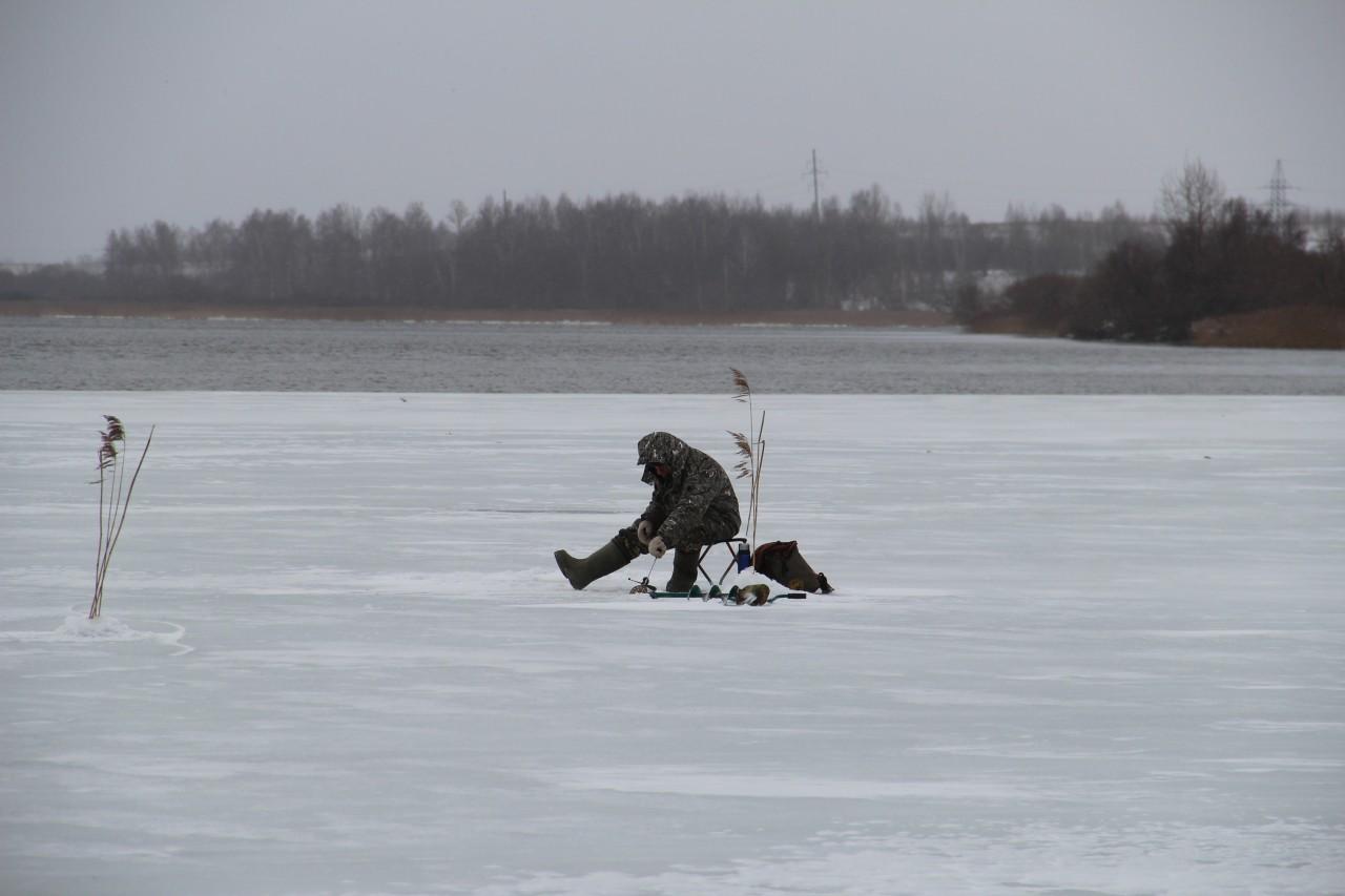 Зимняя рыбалка в смоленске