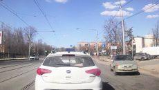В Смоленске водитель сдал полиции автохама, который выехал на встречку