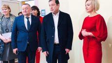 Алексей Островский проверил качество ремонта детсада в Верхнеднепровском