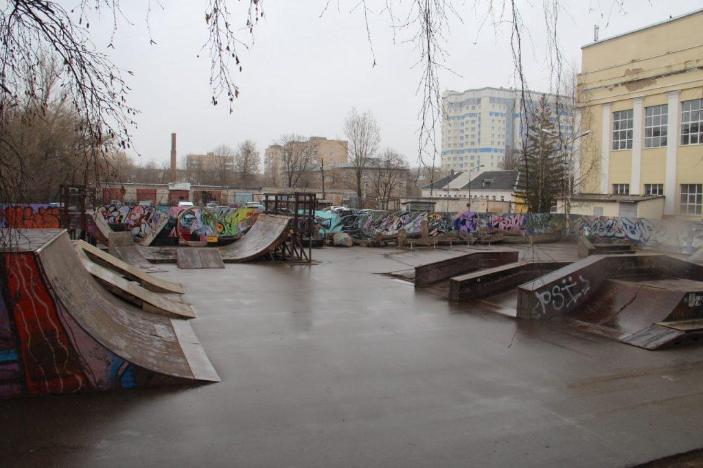 Стало известно, когда в Смоленске откроют обновлённый скейт-парк