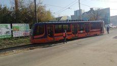 В Смоленске трамвай сошел с рельсов