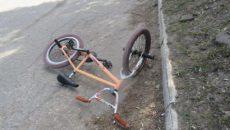 В Смоленске сбили мальчика-велосипедиста