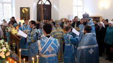 В Смоленске освятили возрождённый храм на Соборном холме