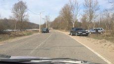 В Смоленске жёсткая авария произошла на дороге к ТЭЦ