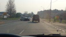 В Смоленске произошла жёсткая авария на Витебском шоссе