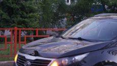 В Смоленске женщина за рулём кроссовера сбила пенсионерку