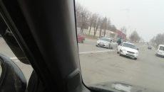 В Смоленске из-за ДТП «Приору» выбросило на встречную полосу