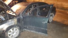 В Смоленской области за ночь сгорели две машины