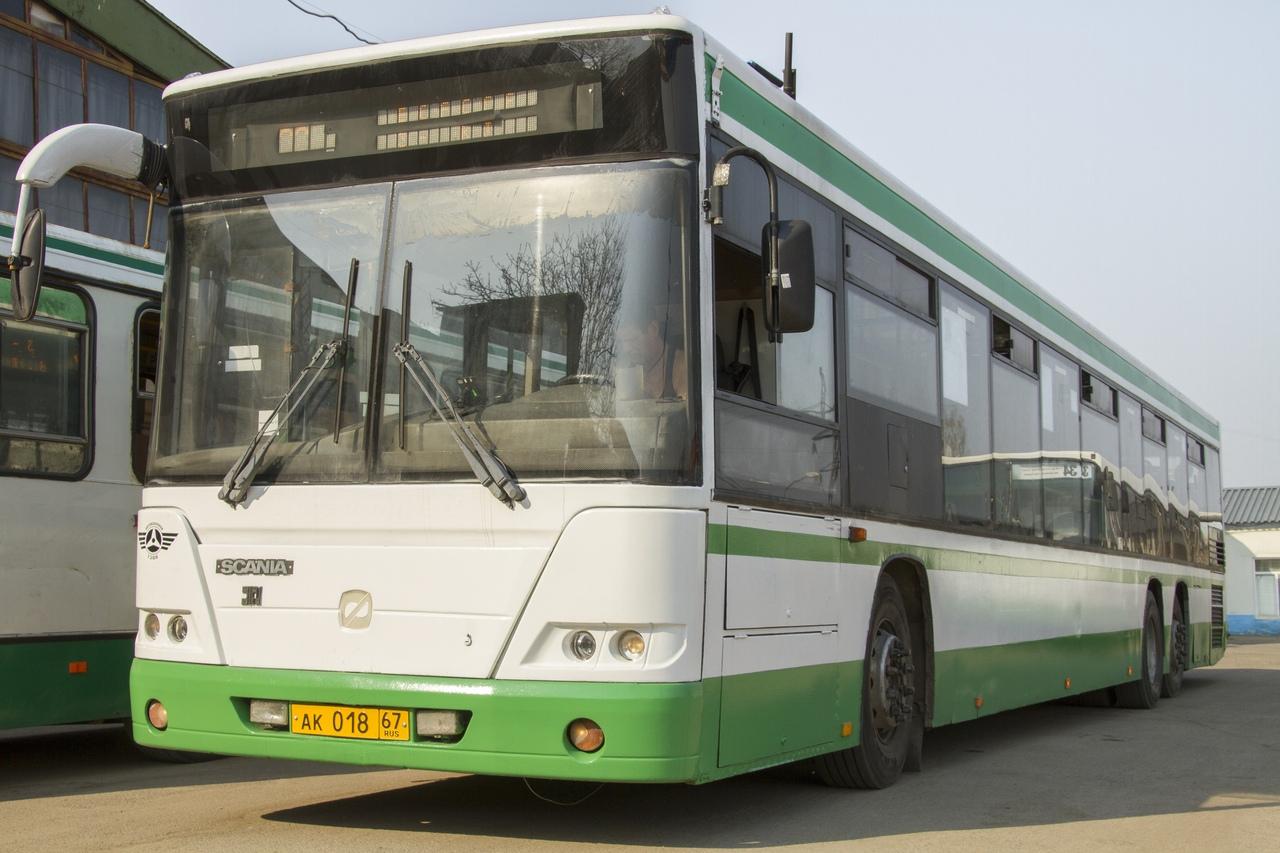 В Смоленске на линию вышел первый столичный автобус