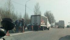 В Смоленске массовое ДТП на Рославльском шоссе сняли на видео