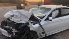 Двое пострадали в результате жесткого ДТП с фурой под Смоленском