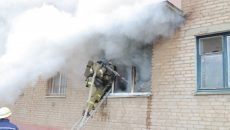 Страшный пожар под Смоленском унес жизнь женщины